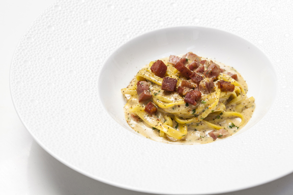 carbonara recipe houston